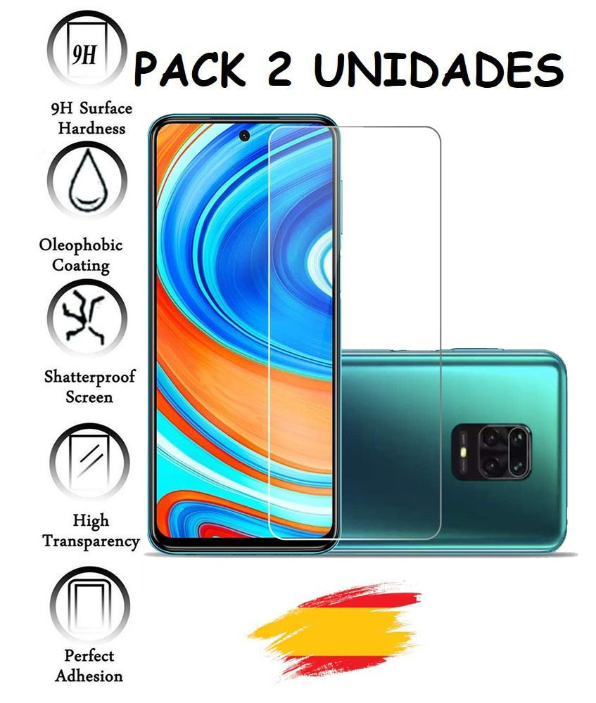 AliExpress - 2X Protector for XIAOMI REDMI NOTE 9 PRO MAX glass tempered glass shockproof 9h, 2 units