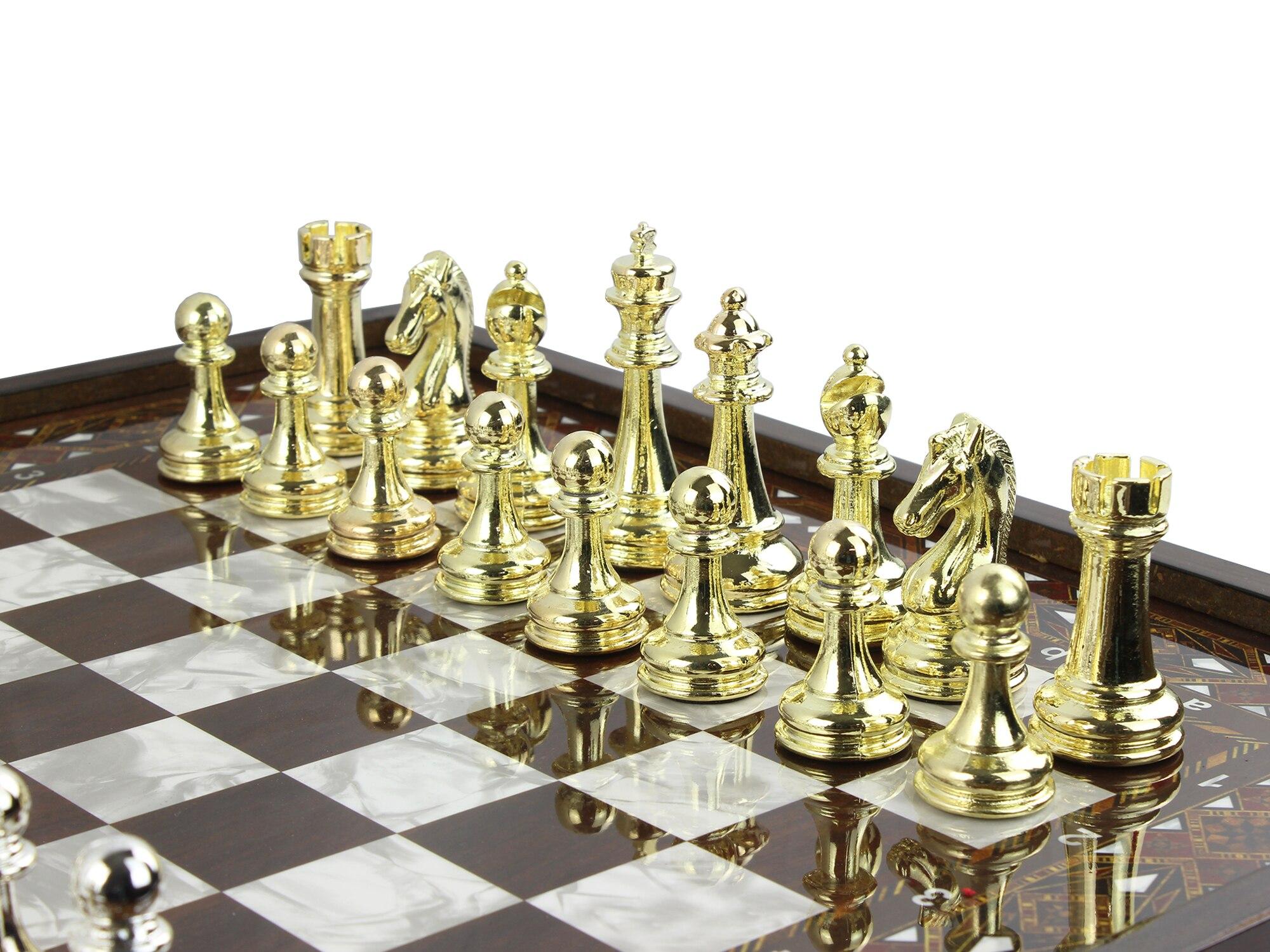 VIP لعبة الشطرنج متعدد الألوان العتيقة فسيفساء الشطرنج و الداما لعبة خشبية هدية الكريسماس للأم الداما هدية لصديقها