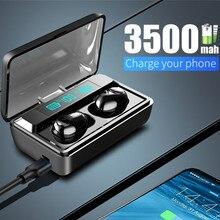 NEW TWS Bluetooth 5.0 Earphone Stereo Wireless Headphones Sports Waterproof Headsets With Smart Digi
