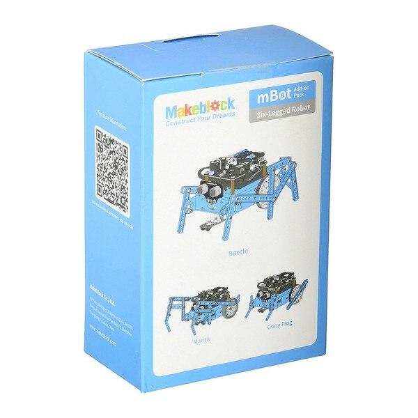 Pack de Piernas para Robot Educativo Makeblock Azul