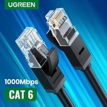 UGREEN-Cable Ethernet Cat6 Lan UTP CAT 6, Cable de red RJ 45, 10m/50m/100m, Cable de parche para enrutador de ordenador portátil, Cable de red RJ45