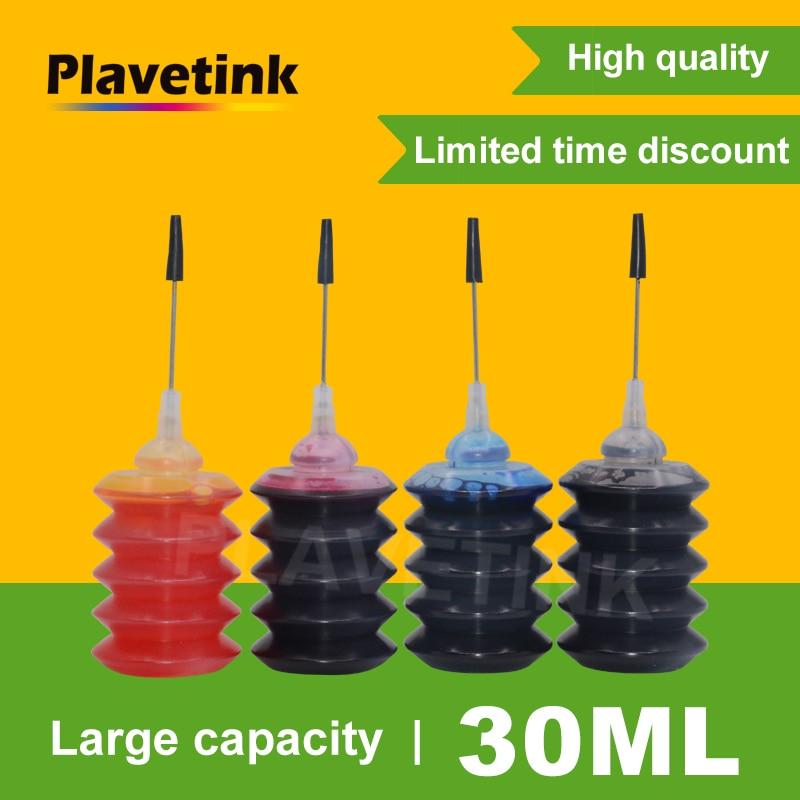 Plavetink 30 مللي زجاجة طابعة الحبر مجموعات الملء ل HP 655 178 364 564 920 670 932 950 711 902 909 952 959 خراطيش