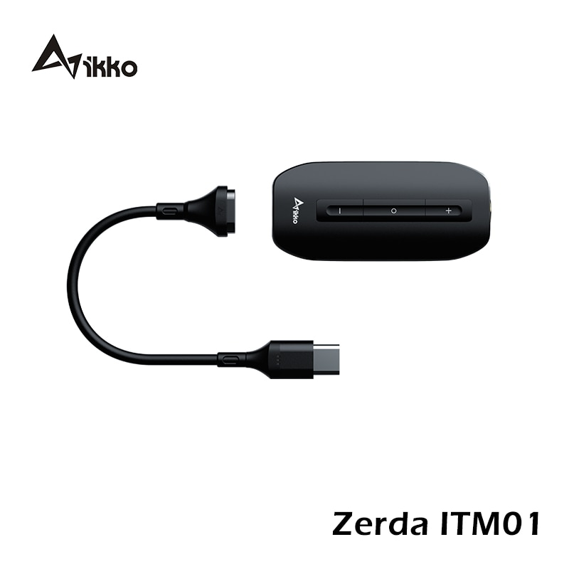 IKKO Zerda ITM01 USB DAC Switch Gaming Sound Card TYPE C to 3.5MM Earphone Hifi Audio Amplifier for Phone PC MAC Cable Adapter enlarge