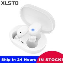 Kablosuz kulaklık A6S TWS Bluetooth kulaklık gürültü iptal fone mikrofonlu kulaklık kulakiçi PK Redmi Airdots kablosuz kulaklık