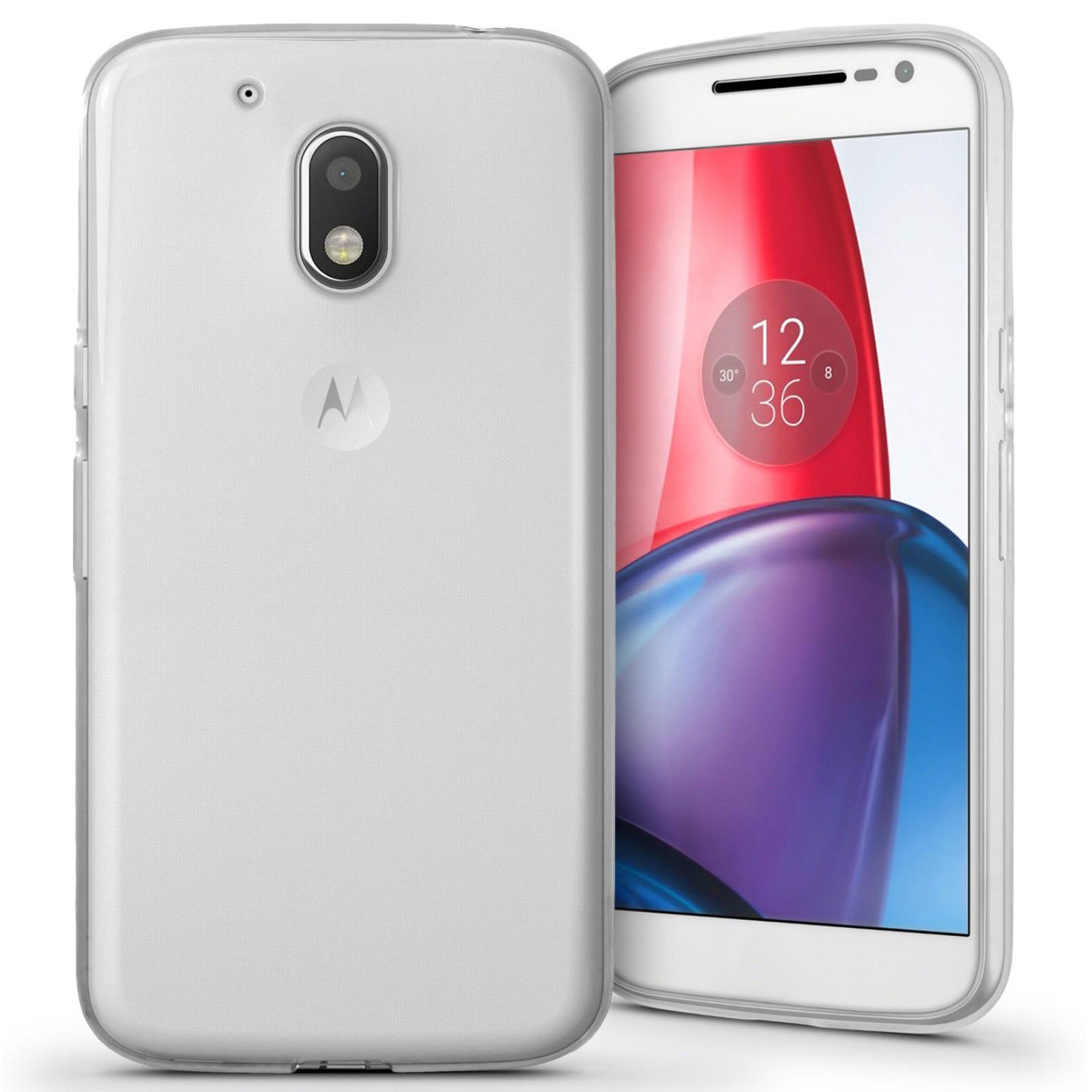 Funda de gel TPU carcasa protectora silicona para movil Motorola Moto G G2 G3 G4 G5 G5S G7 Plus Play Power Elige Modelo