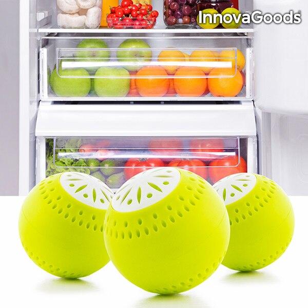 Innovagoods frigorífico eco balls (pacote de 3)