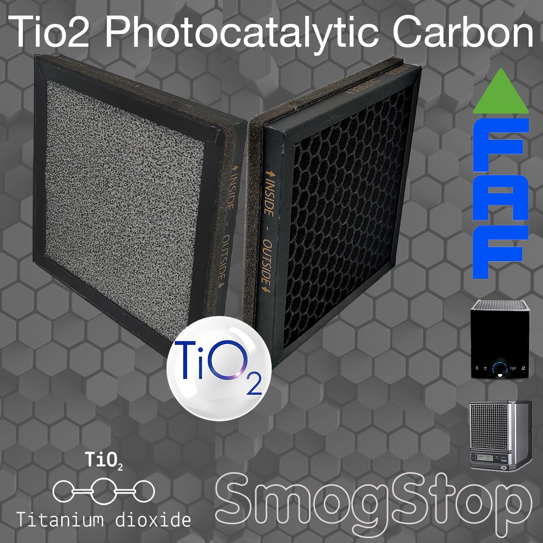 Actitek AP300 /Aerus نقية نظيفة/EcoQuest/الهواء النقي متوافق TiO2 الأشعة فوق البنفسجية مرشح تحفيزي TiO2 + وقف الضباب الدخاني الكربون