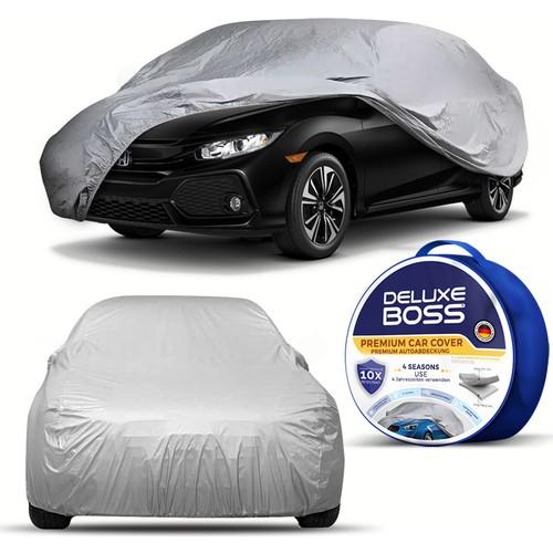 Deluxe Boss Honda Civic Sedan Custom fit Car Tarpaulin Tent Sun Protection-10X Ultra Protection