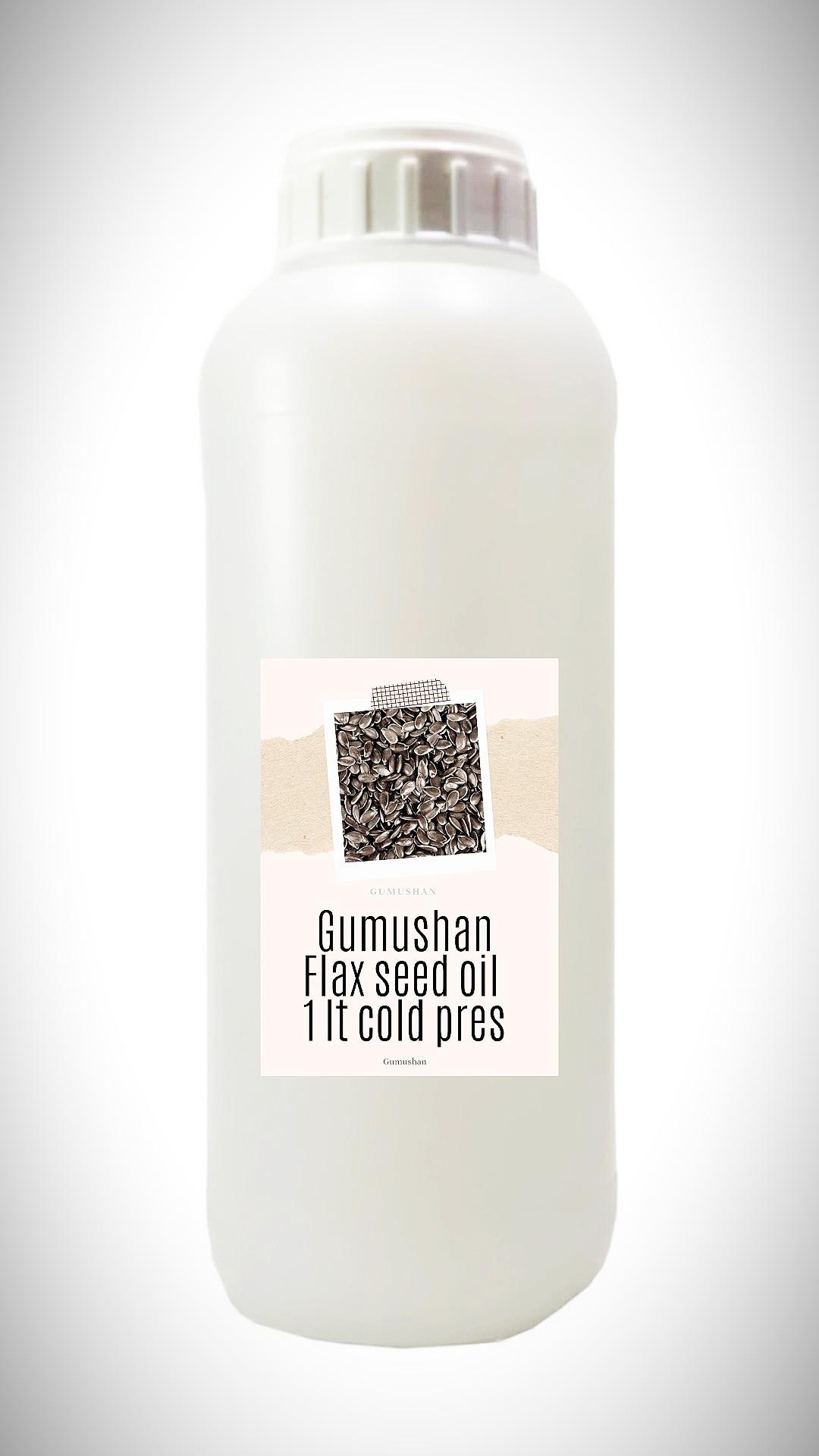 High quality pure Flax Seed Oil 1 liter 34 fl oz 1000ml