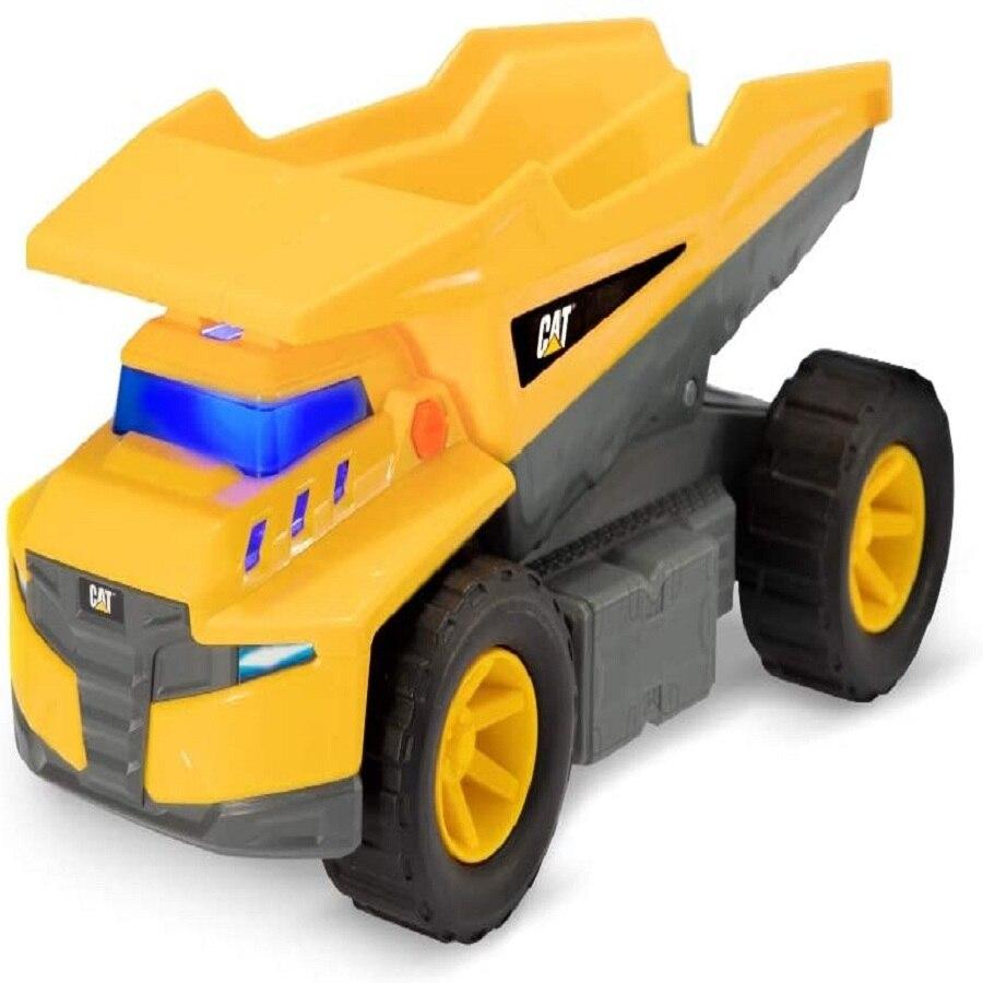 Caterpillar Future Force-benne basculante-camion benne, couleur jaune (Funrise 1)