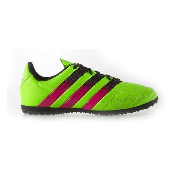 Botas de fútbol Multi-stud para niños Adidas ACE 16,3 TF J amarillo rosa
