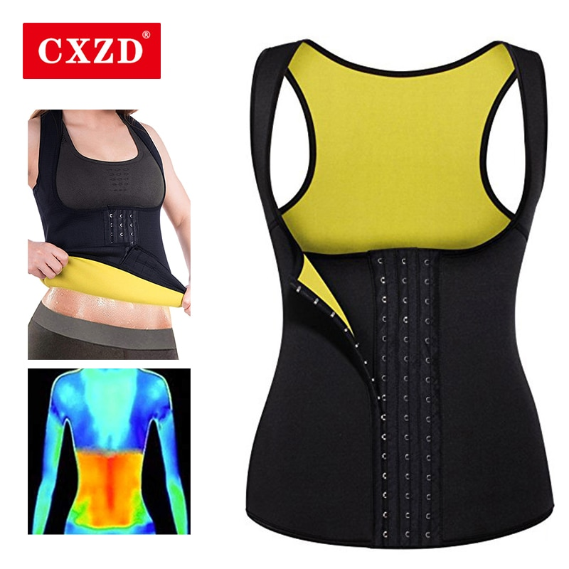 CXZD نساء مدرب خصر مشدات حزام تخسيس مشد للخصر مشد النيوبرين Shaperwear سترة البطن حزام البطن مشدات الجسم