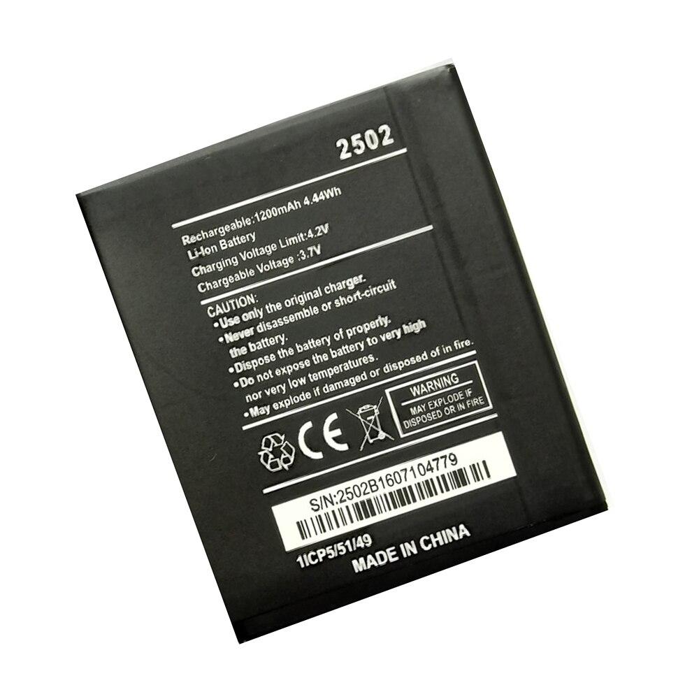 1200mAh 2502 batería de respaldo para Wiko 2502 batería pila acumulador