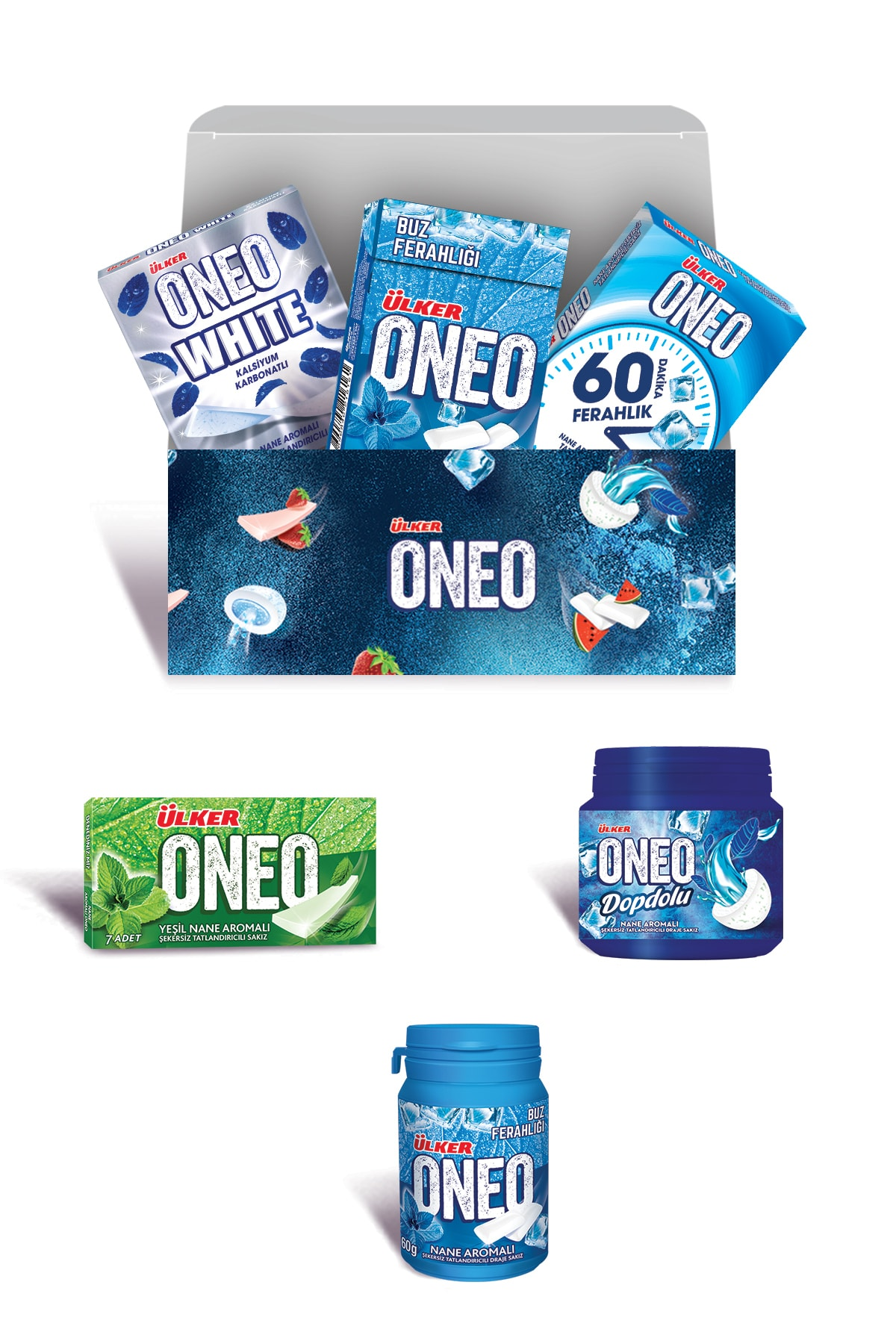 Ülker Oneo is 'going well on the road, instantly refreshing' Mint Package      FREE SHİPPİNG