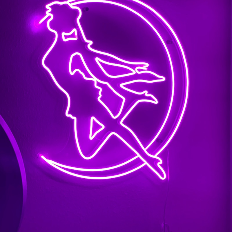 Sailor Moon Custom Neon Sign Led light Anime Neon Sign Wall Decor for Bedroom Home Store Personalized Design Light Birthday Gift enlarge