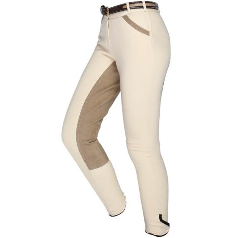 Cavassion Outdoor Sports Body Protective Equipment Equestrian Knitting Breeches Anti-wear Full leather Micro Fiber Horse Riding