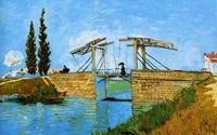 bigger is better 400x300mm magnets jm10022 painting_of_vincent_van_gogh_ _langlois_bridge