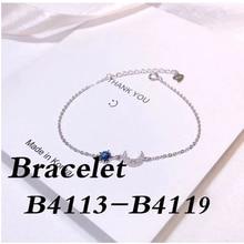 Haute qualité argent 925 Bracelet B4113 B4114 B4115 B4116 B4117 B4118