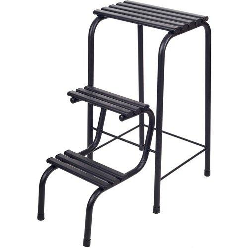 Складной металлический деревянный Удобный прочный стул для лестницы
