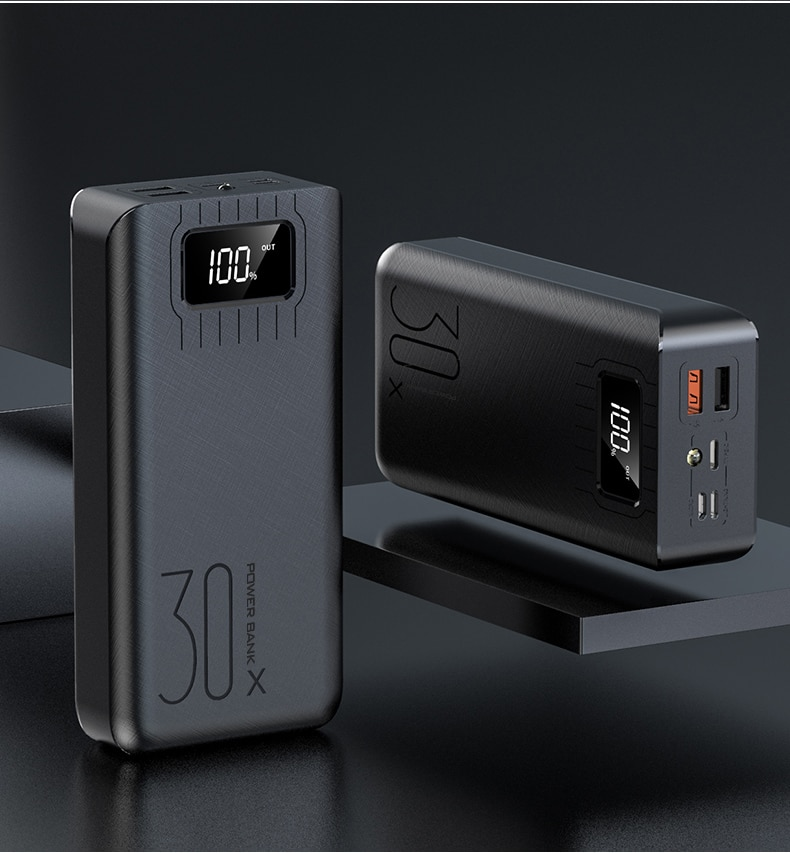 50000 mah portátil power bank carregamento powerbank telefone móvel carregador de bateria externa powerbank 50000 mah para iphone xiaomi mi