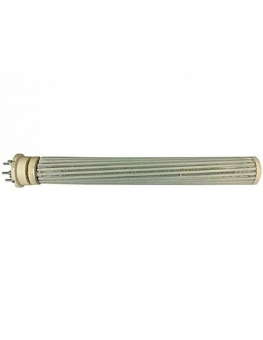 Resistência cerâmica térmica trifásica saunier duval 2400 w 430x51mm 0020003303