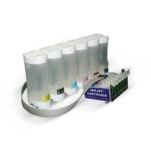 Epson T0801-T0806 (T0791-T0796) COMPATIBLE BİTMEYEN CARTRIDGE SYSTEM-P50/PX650/PX660/PX700/PX720/PX800/PX810/PX830 /R265/R2