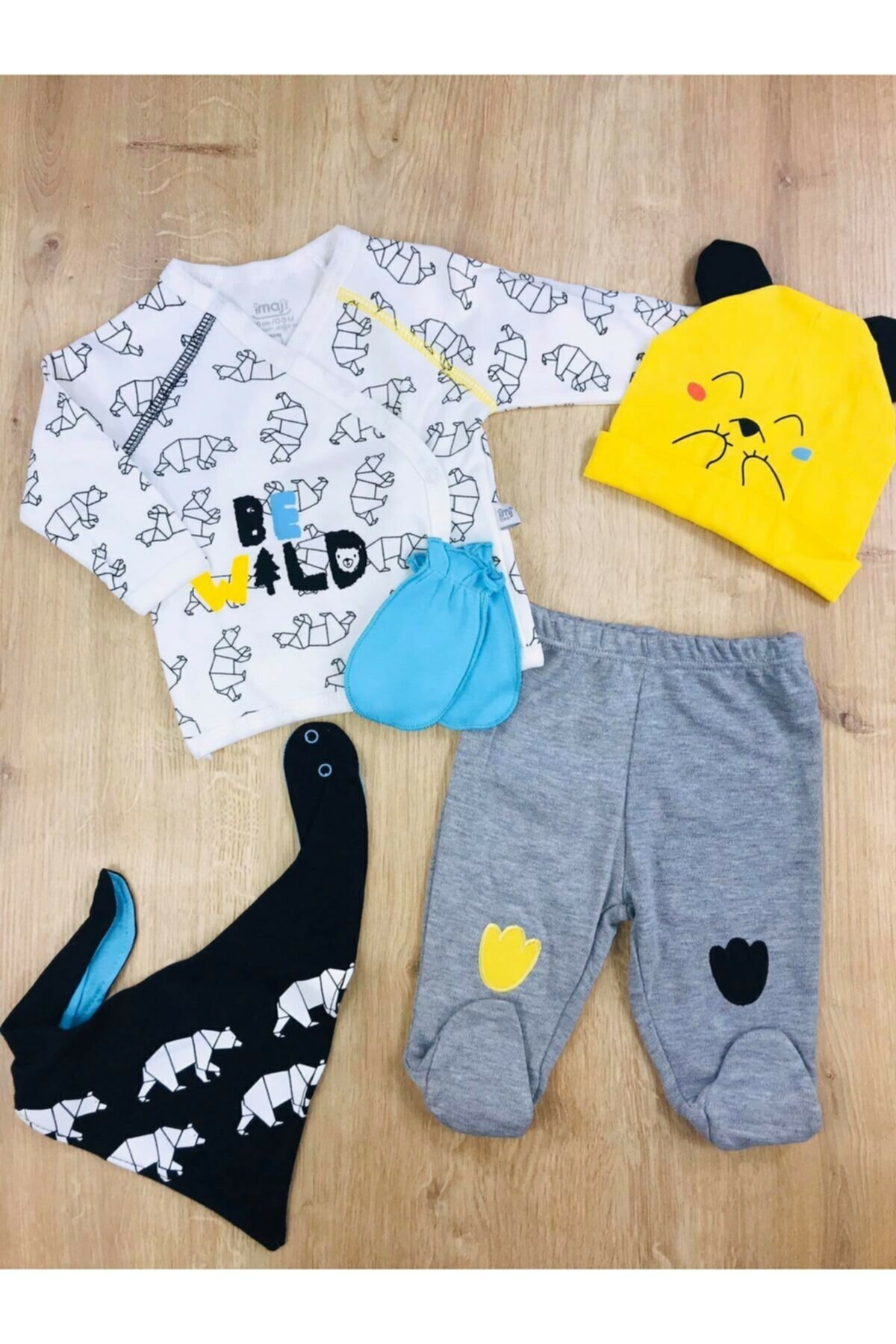 2017 new summer baby clothing set cotton cute pattern vest Teddy bear Pattern Infant New Born Baby Boy Girl Set of 5 Outfit 100% Natural Cotton 4 Seasons Cute Confortable Soft clothing