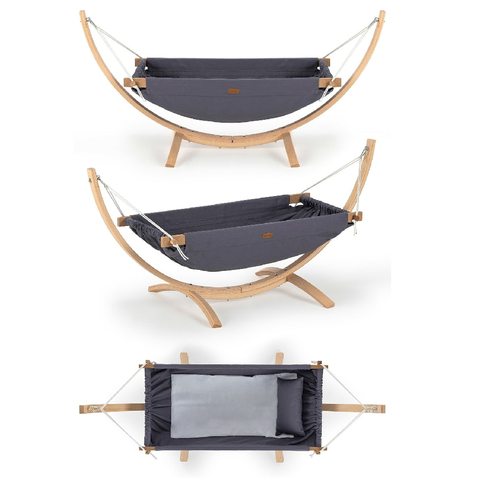 Portable Baby Wooden Hammock Crib Furniture Movable Travel Bed Nest Swing Safety Bebe Home Products Mother Kids Room  Baby Nest enlarge
