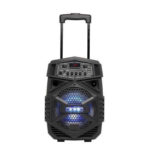 Altavoz portátil, por Bluetooth, con micrófono Denver Electronics TSP-110, 10W, Negro