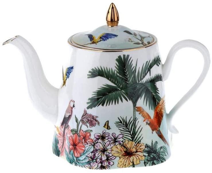 LuckyArt حدائق ابريق شاي عظم بابل