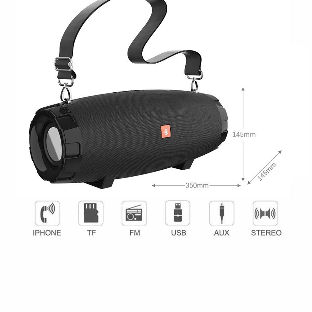 Allavoz Bluetooth Zedro , 5W * 2, tarjeta FM/TF/USB/Audio, color elige