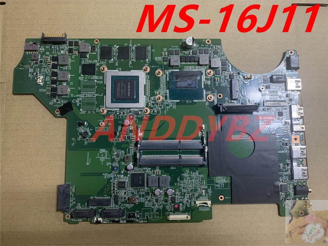 MS-16J11 الإصدار 1.0 ل MSI MS-16J1 MS-1791 Ge62 2qf-094xes GE72 اللوحة مع I7 وحدة المعالجة المركزية و GTX965MGraphics بطاقة 100% العمل موافق