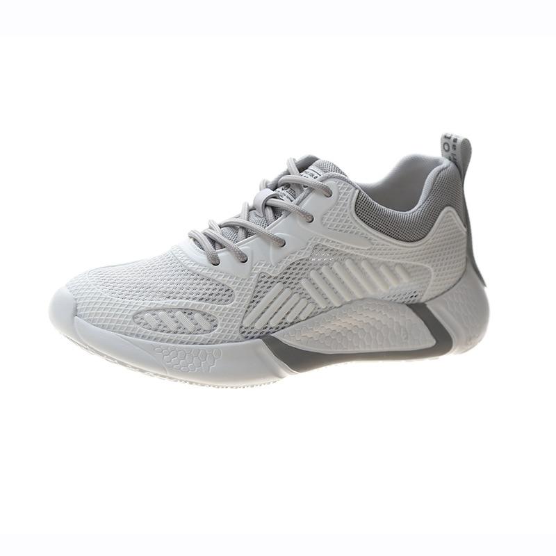 2020 جديد الخريف حذاء كاجوال للمرأة/رجل شقة لينة أسفل أحذية رياضية تنفس شبكة أحذية امرأة مضفر الأحذية