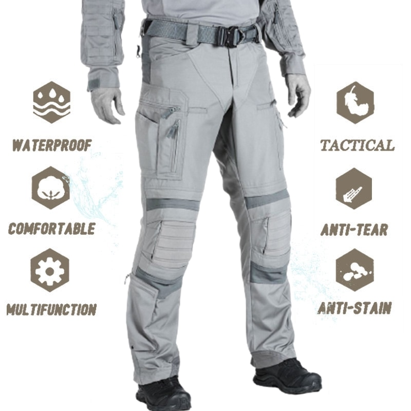 Tactical Pants Military US Army Cargo Pants Work Clothes Combat Uniform Outdoor Airsoft Paintball Ca