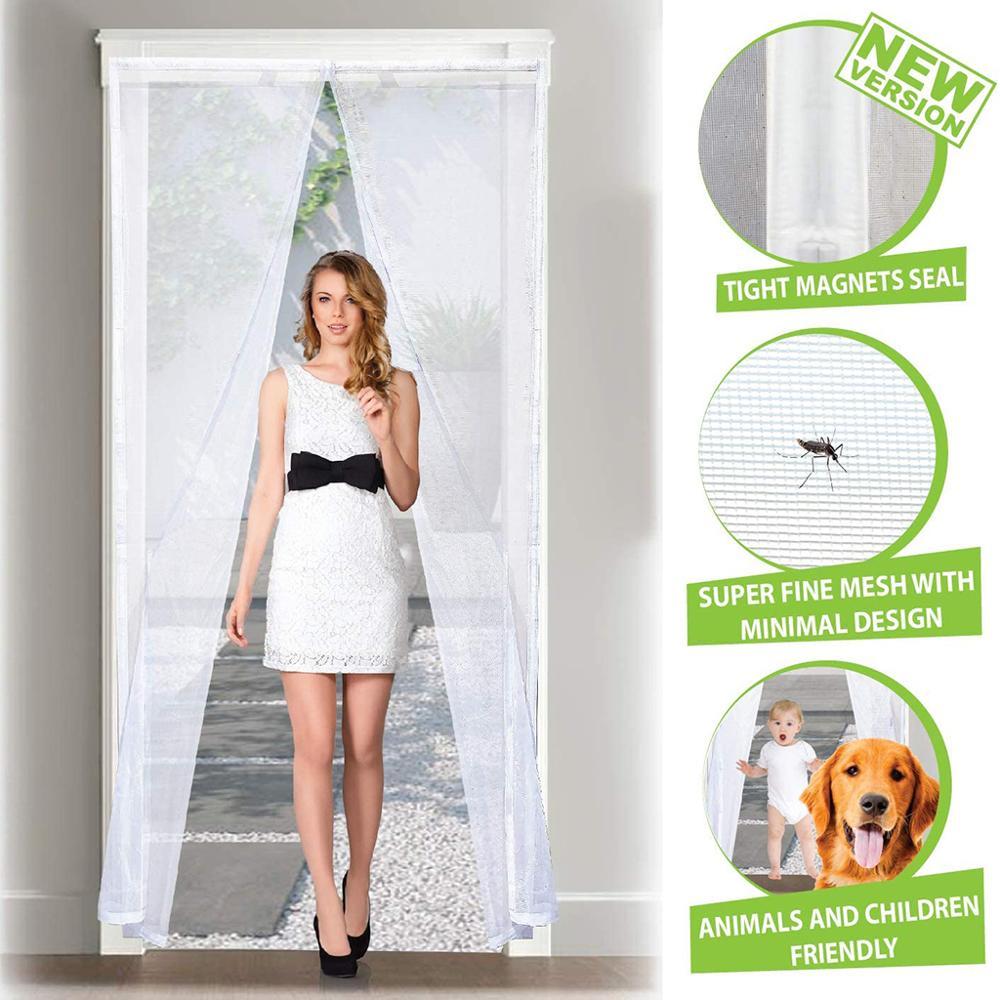AliExpress - Mosquito Net doors, automatic magnetic mosquito net for living room curtain doors balcony door sliding door