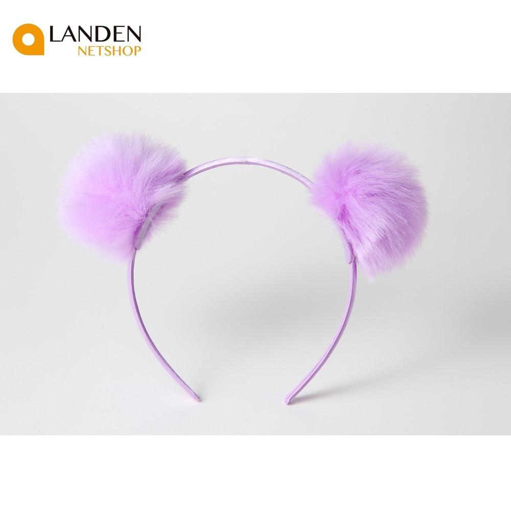 Diademas de Pom pom bola pelo Hairband accesorios niñas para el pelo accesorios para el cabello