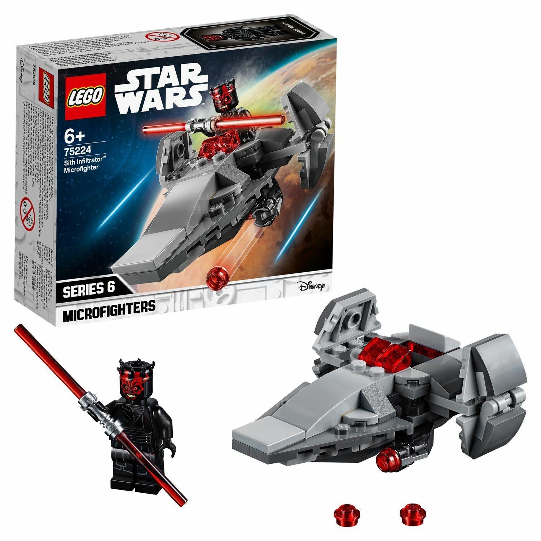 Concepteur Lego Star Wars micro-combattants navire-lapper Sith 75224