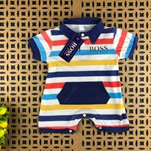 Baby Clothing Boy Girl 3 6 9 Months Long Sleeve Rompers And Printed Cotton Brand Designer Jumpsuit P