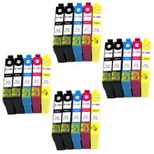20 tinta ges ges modelo t1281 t1282 t1283 t1284 t1308 compatível com impressoras epson stylus sx445w