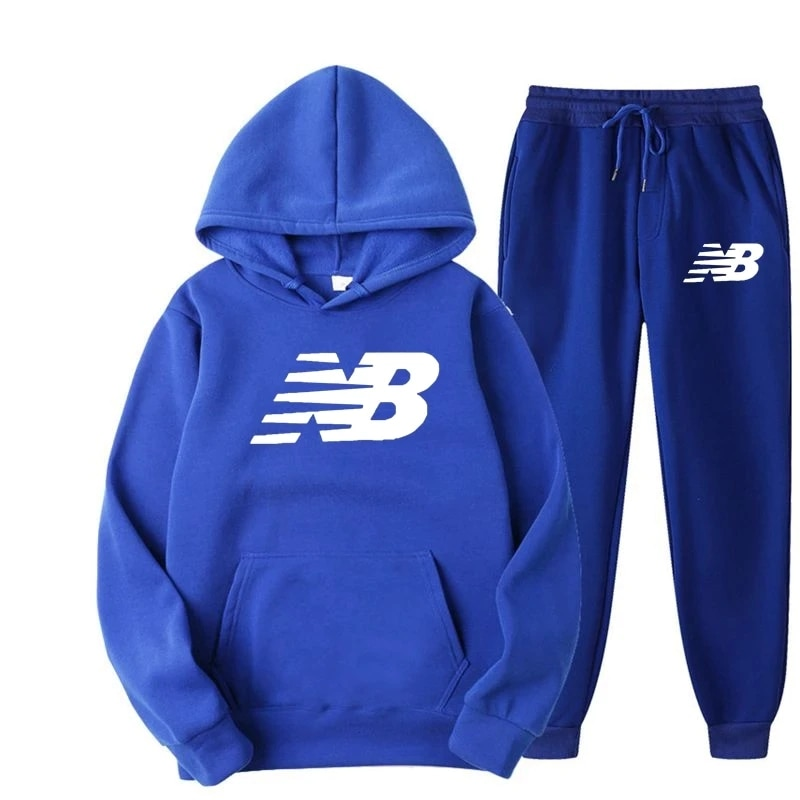 2021 sportswear men's casual hooded pullover sweater suit two-piece sweatshirt + pants sports suit free shipping