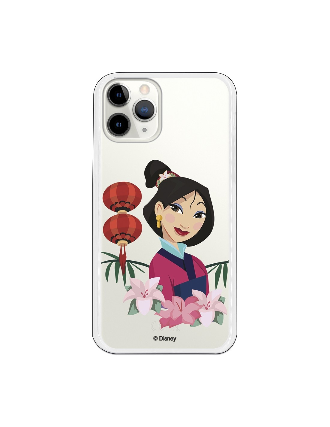 Funda para iPhone 11 Pro Oficial de Disney Mulan Rostro  - Mulan
