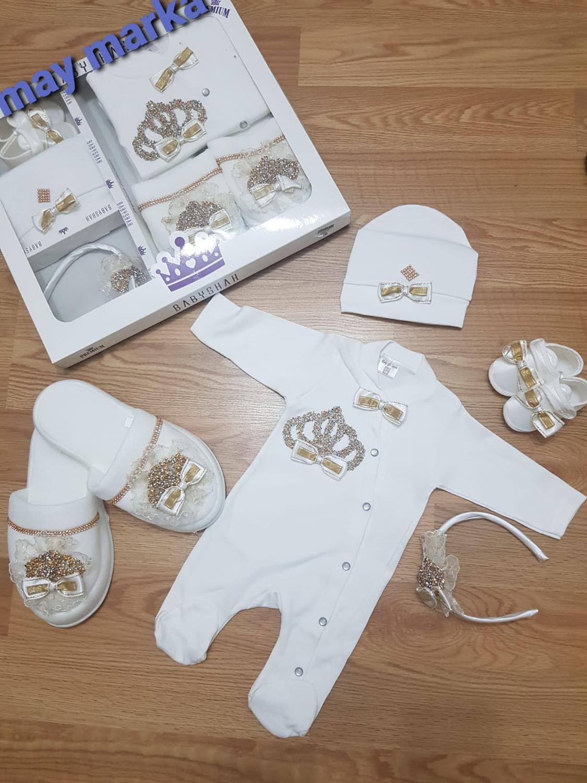 2020 Autumn Baby Clothing , Newborn , Overalls , Hair Band , Slipper , Shoe , Crown , Princess , Boy ,Turkey Fast Shipping New