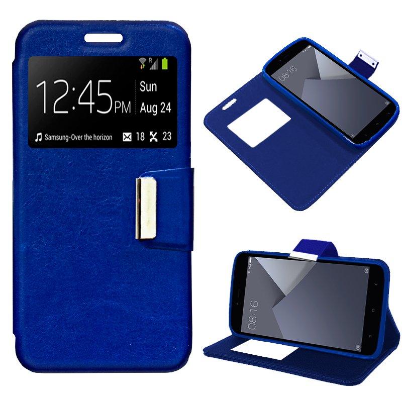 Funda Flip Cover Xiaomi Redmi Note 5A / Note 5A Prime Color Azul