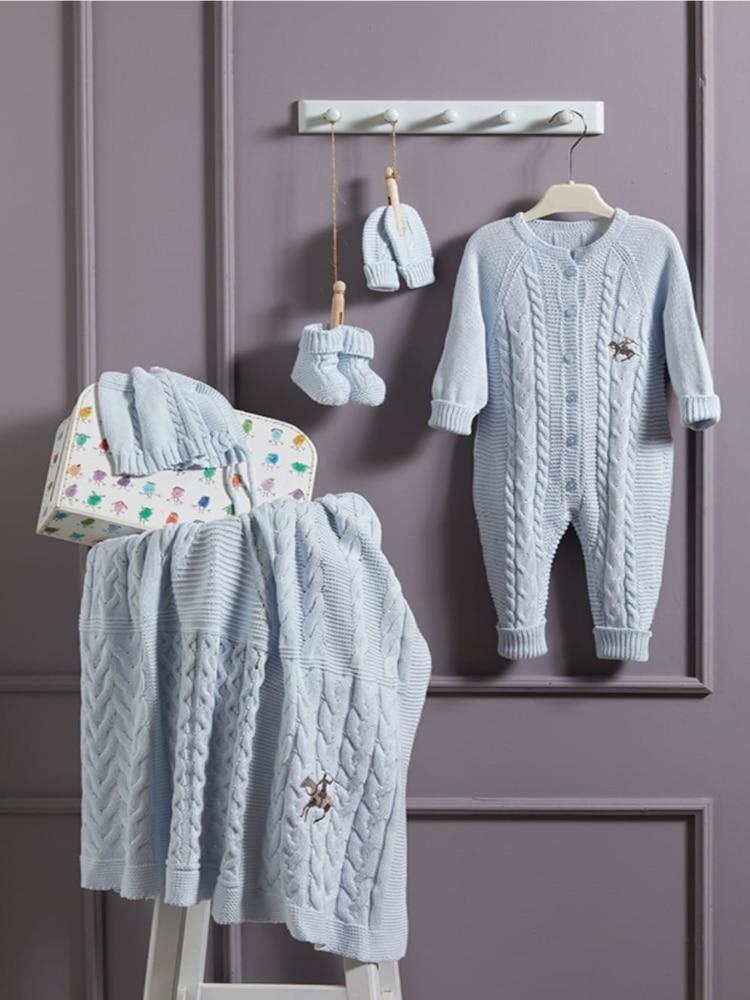 Nipperland Knitted Italian brand newborn set