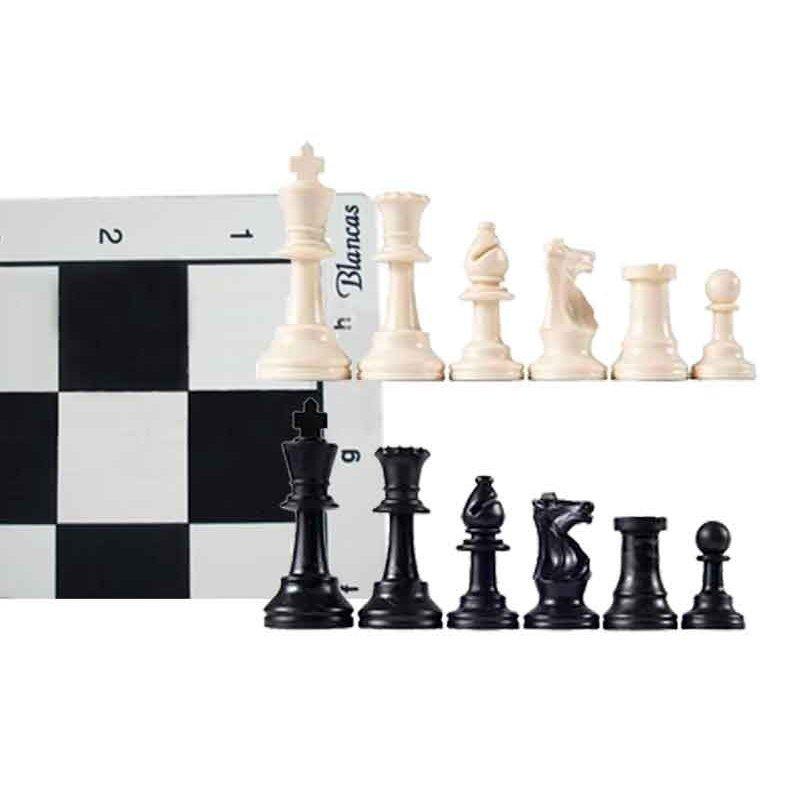Pack schach bord 45 cm. Und Stück für hochschulen 96mm. Geeignet für geben arten schach in hochschulen und meisterschaften zugelassen
