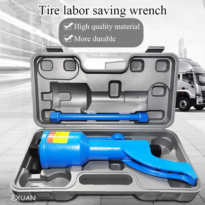 الإطارات إزالة العمالة الموفرة وجع الثقيلة شاحنة إطار حافلة موفرة للعمالة التفكيك اليدوي قوة الإطارات تفريغ أداة