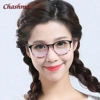 chashma brand korea stylish men and women eye glasses vintage round black frame glasses frame for lady elegant
