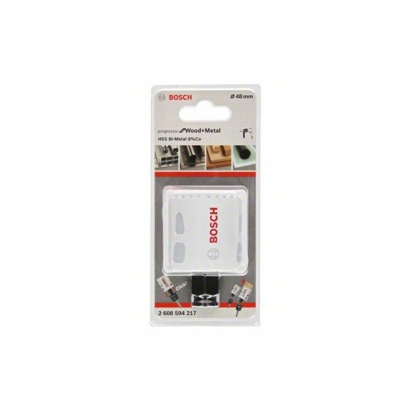 Bosch 2608594217 Sierra de corona 48mm Progressor Wood and Metal