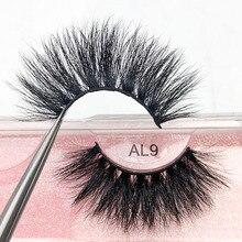 Luxury False Eyelashes 3D Siberian Mink Lashes 25 mm Multipack Volume 100% Real Mink Fur Handmade Hi
