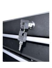 JBM 53194 chariot à outils 6 tiroirs vide noir